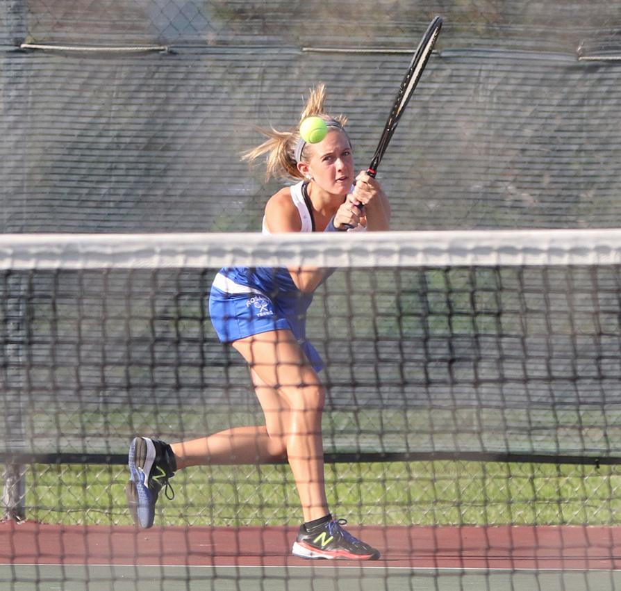 Kaneland Vs Rosary Girls Tennis