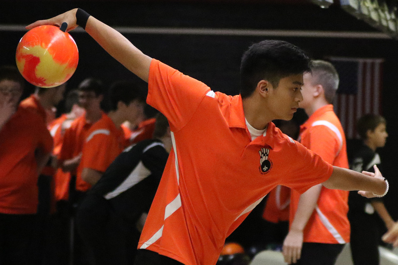 St. Charles East vs St. Charles North Bowling