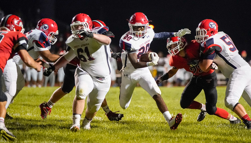 West Aurora Vs Yorkville Football