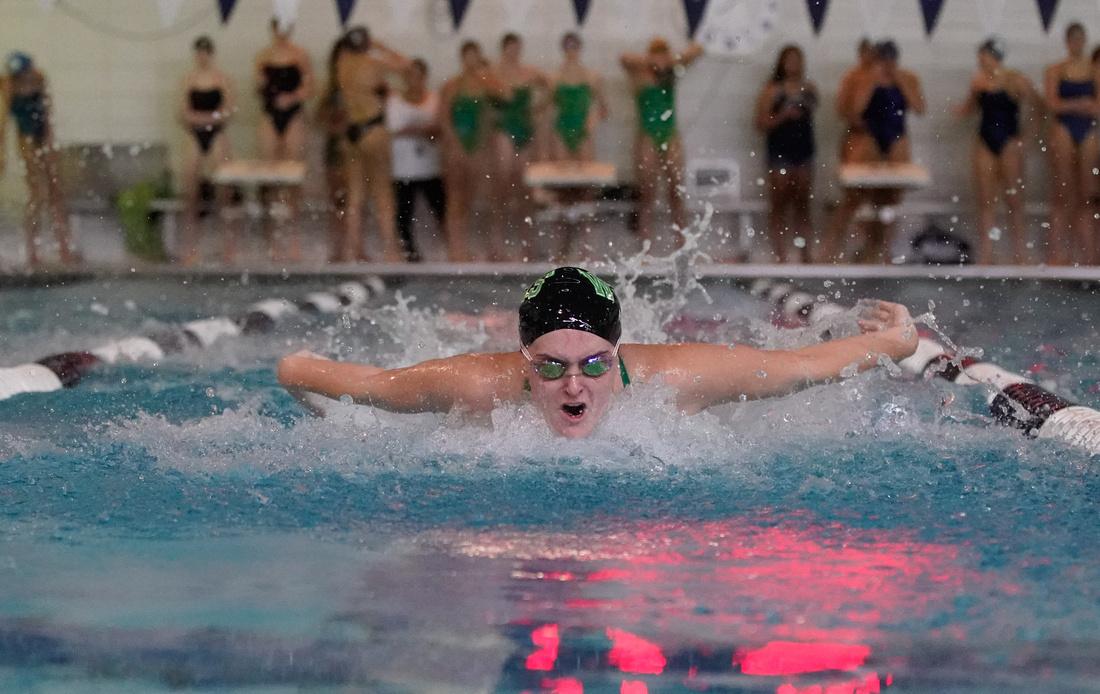 West Chicago Girls Swim Meet