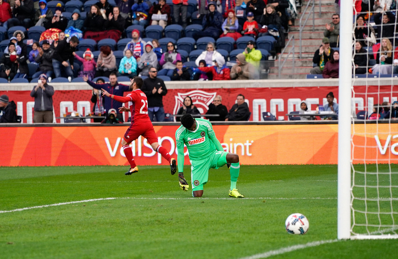 Chicago Fire Vs Philadelphia United