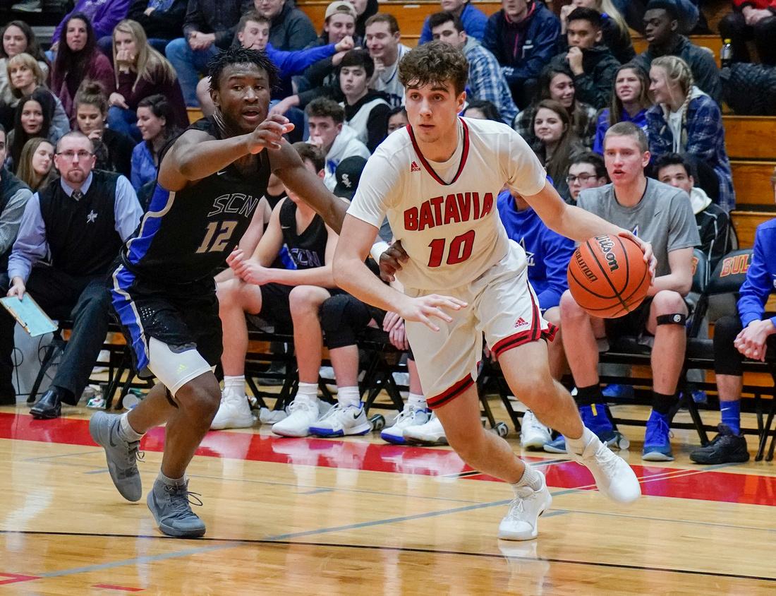 Batavia Vs St. Charles North Basketball