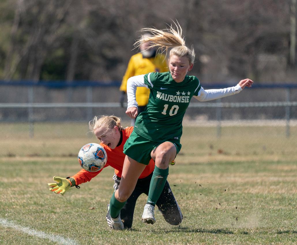 Waubonsie Valley Soccer 4-7-18