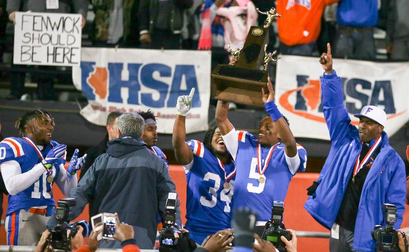 East St. Louis 7A IHSA Football Champions