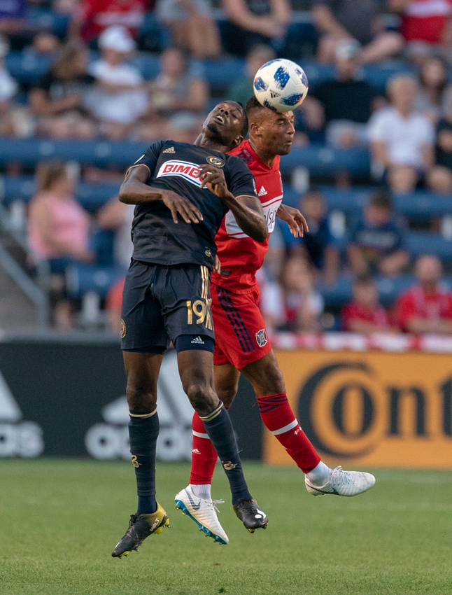 Chicago Fire Vs Philidelphia Union