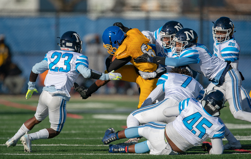 Nazareth Vs. Simeon 7A quarterfinal football