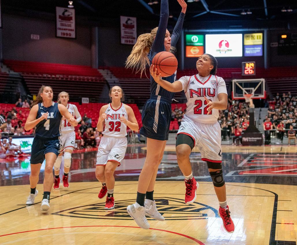 NIU Vs. Yale Women's Basketball