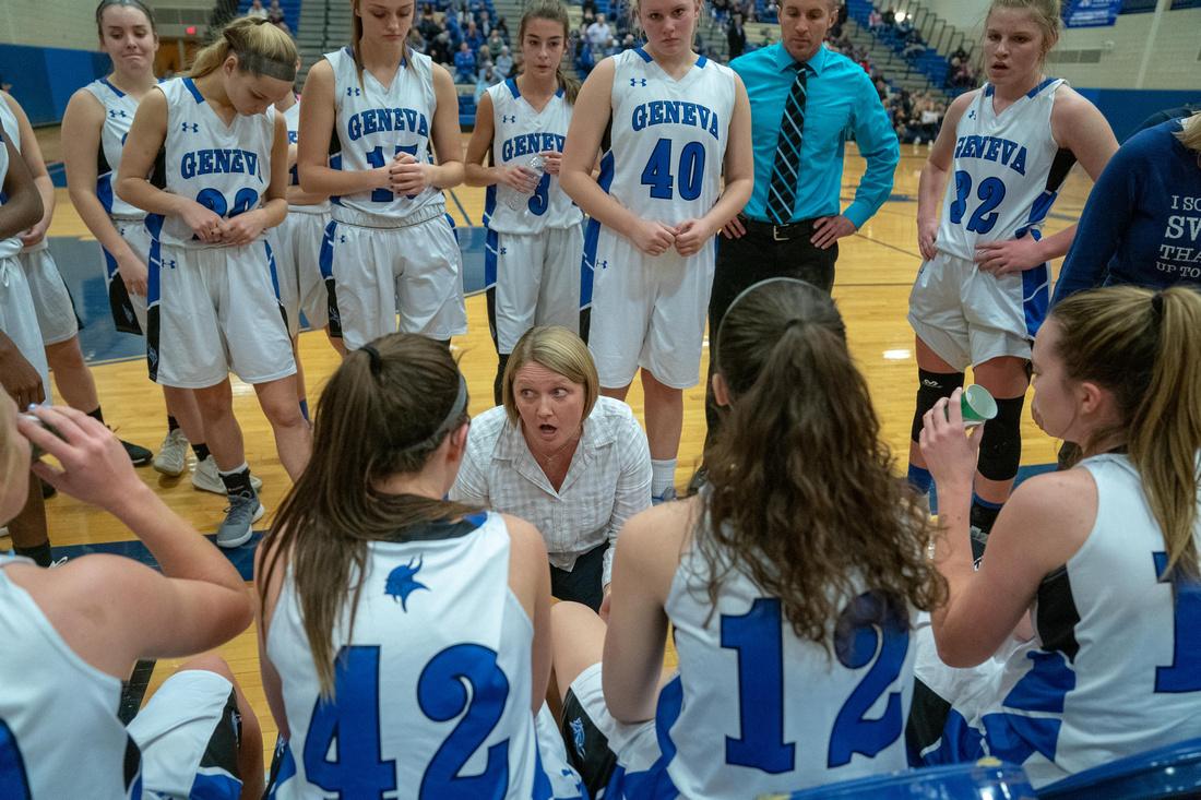 Geneva Vs. Yorkville Girl's Basketball