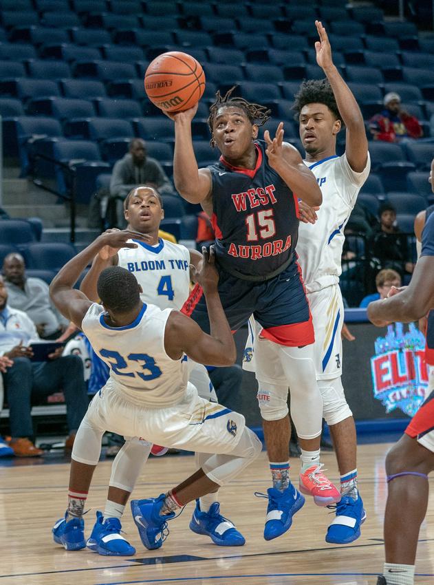 120118 - West Aurora Boys Basketball