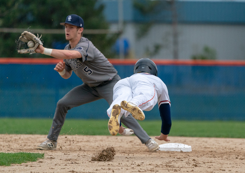 Oswego Vs Oswego East Baseball