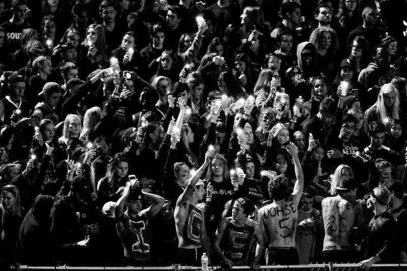 Wheaton Warrenville South Football Fans