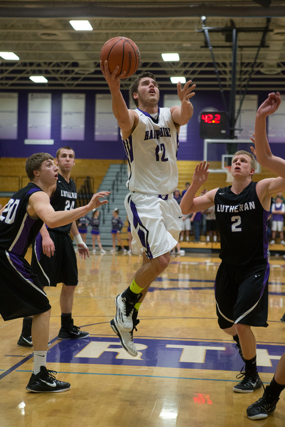 Hamshire vs Rockford Lutheran - 3A Rochelle High School Sectional semifinal