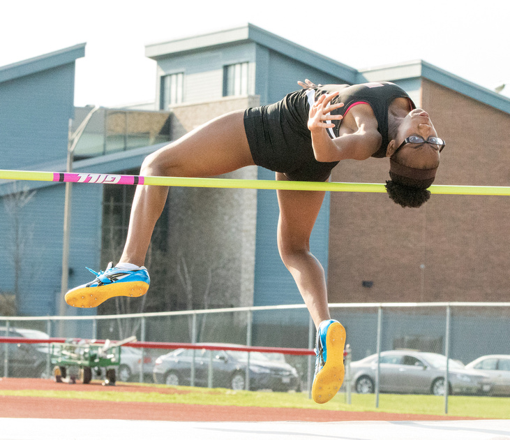 Yorkville Girls Track and Field Meet