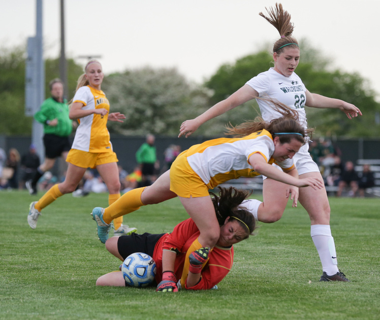 Waubonsie Valley Girls 3A Regional Soccer Final