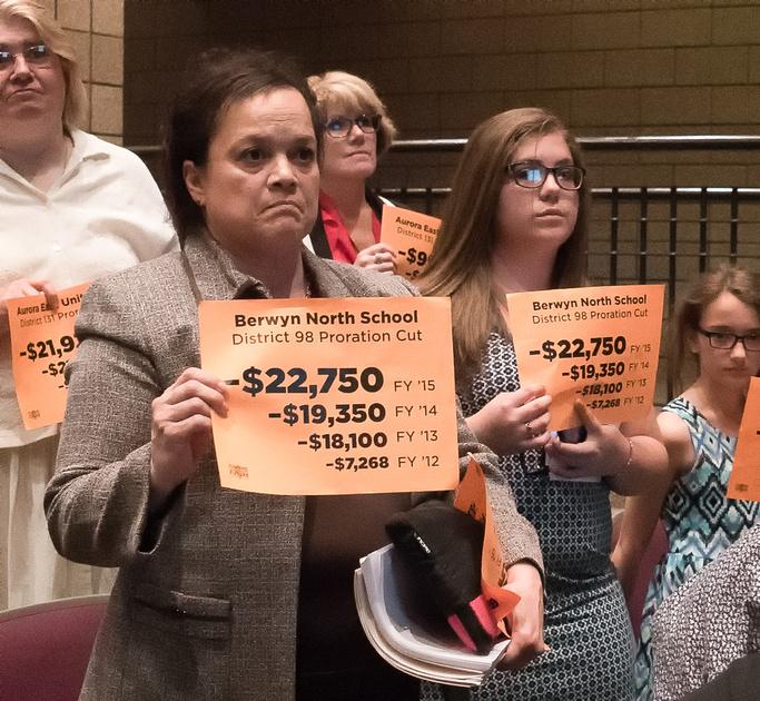 Illinois School Board Budget Meeting