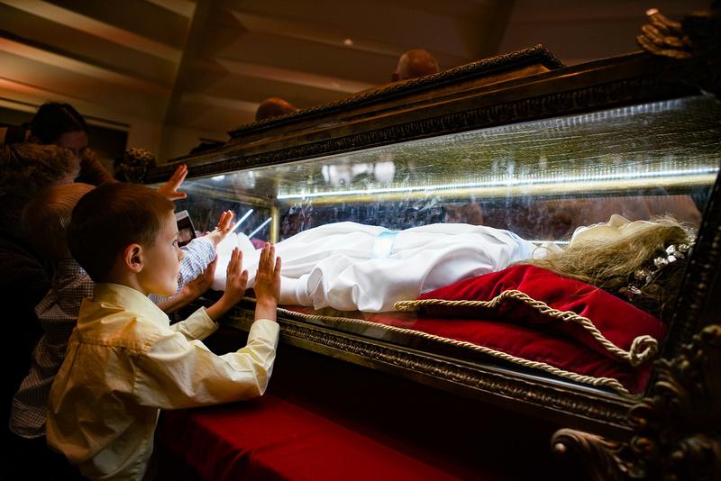 Saint Maria Goretti Visit