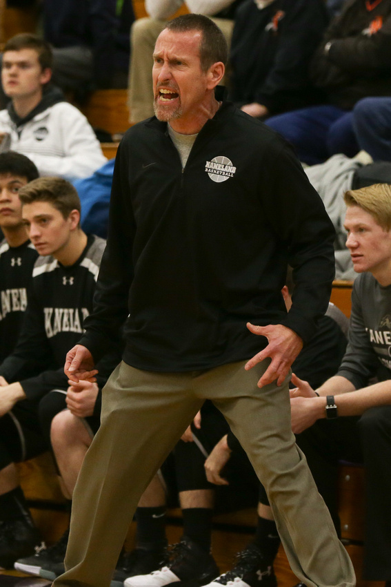 Kaneland Basketball Coach Joe Conroy