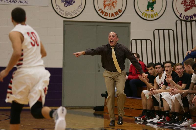 Yorkville Boys Basketball Coach Mike Dunn