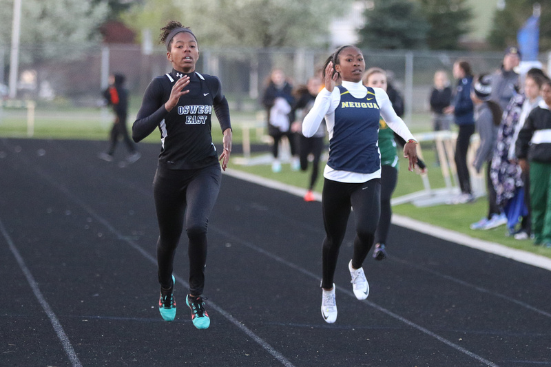 Neuqua Valley Girls Track and Field Meet