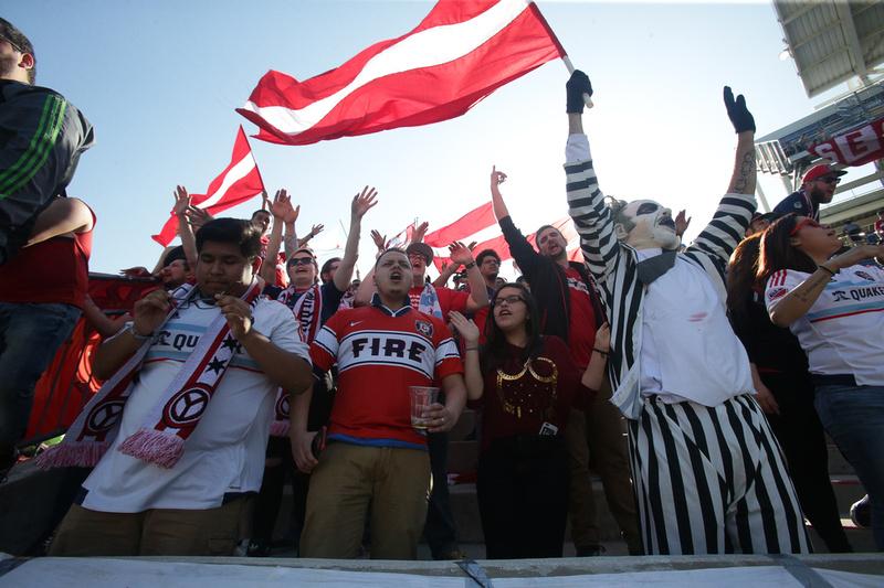 Chicago Fire vs Columbus Crew SC