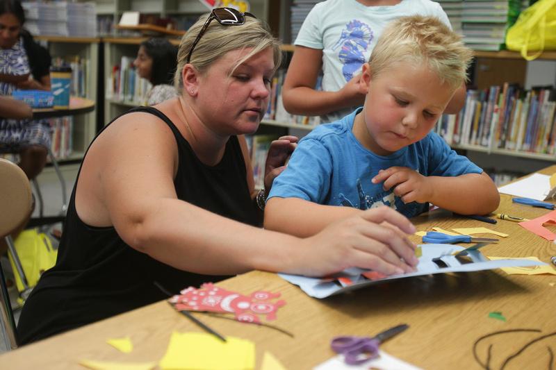 Summer Art Program in District 204