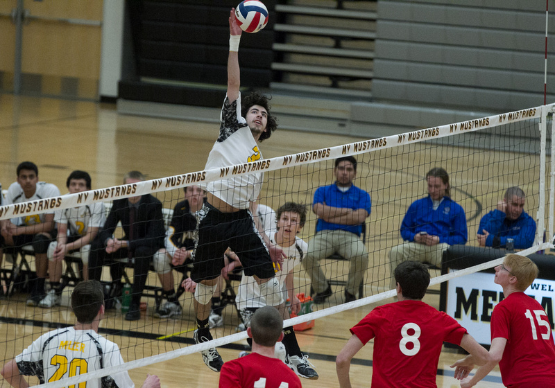 Metea Valley Vs Hinsdale Central Boys Volleyball