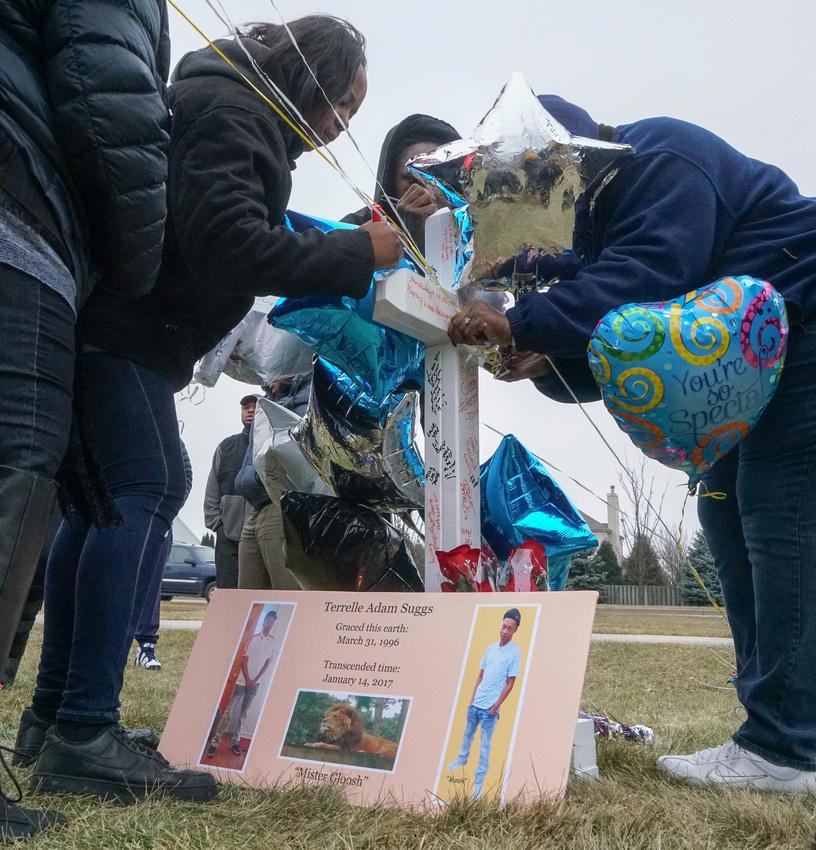 Terrell Suggs Murder Vigil