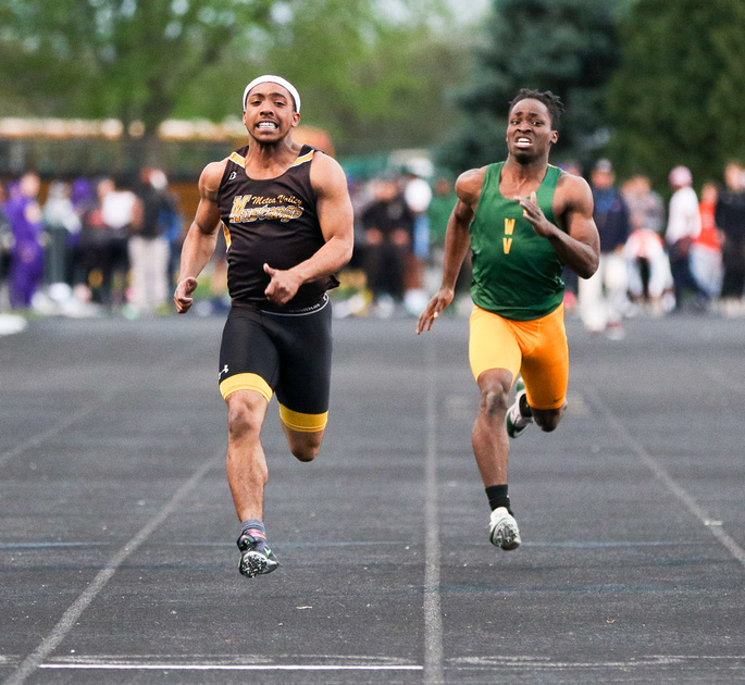 Boys Track and Field Meet at Wheaton-Warrenville South