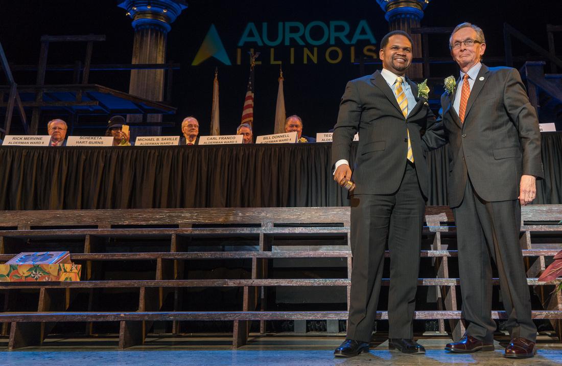 Aurora Mayor and Aldermanic Inauguration