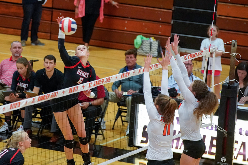 St.Charles Vs Benet Girls Volleyball