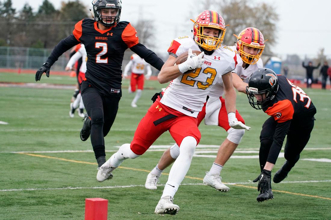 Batavia Vs. Lincoln-Way West 7A quarterfinal football game