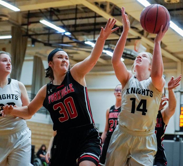 Yorkville Vs. Kaneland Girls Basketball