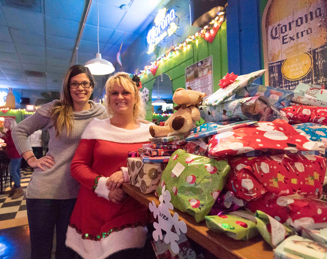 Christmas food and gifts for the needy