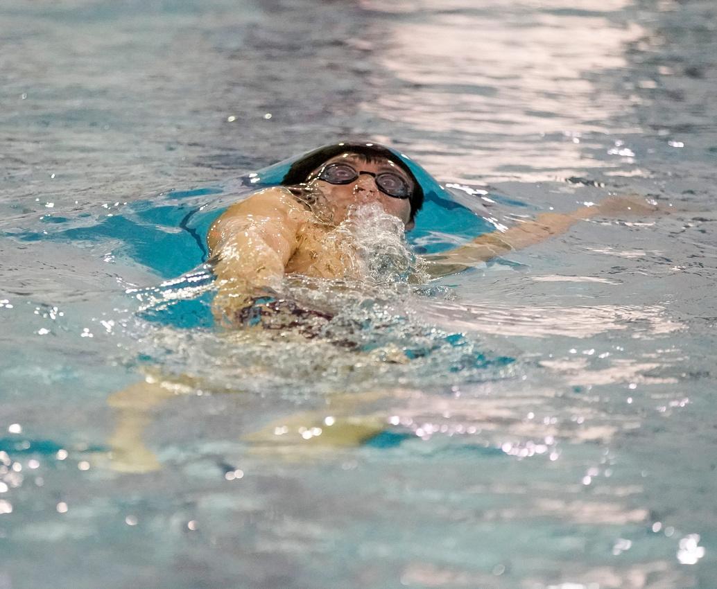Naperville North Swim Meet