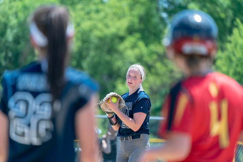Oswego East class 4A softball regional final