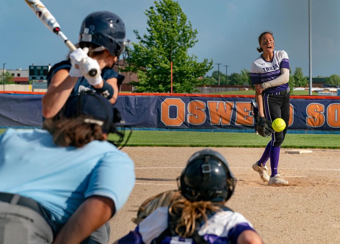 Oswego Class 4A Softball Sectional Semifinal
