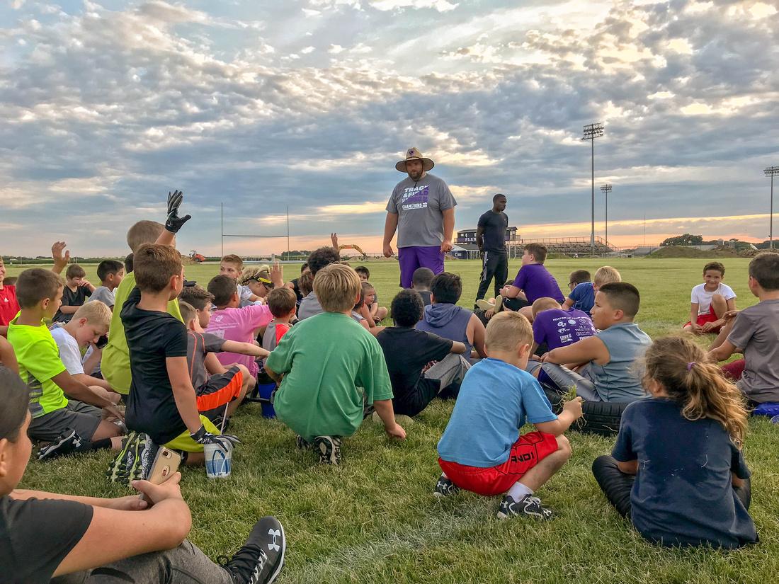 Plano Youth Football Camp