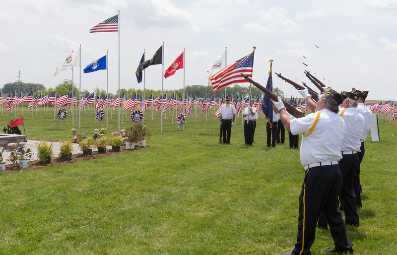 Memorial Day Ceremony at Kaneland High School