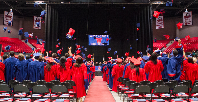 West Aurora High School Graduation Ceremony