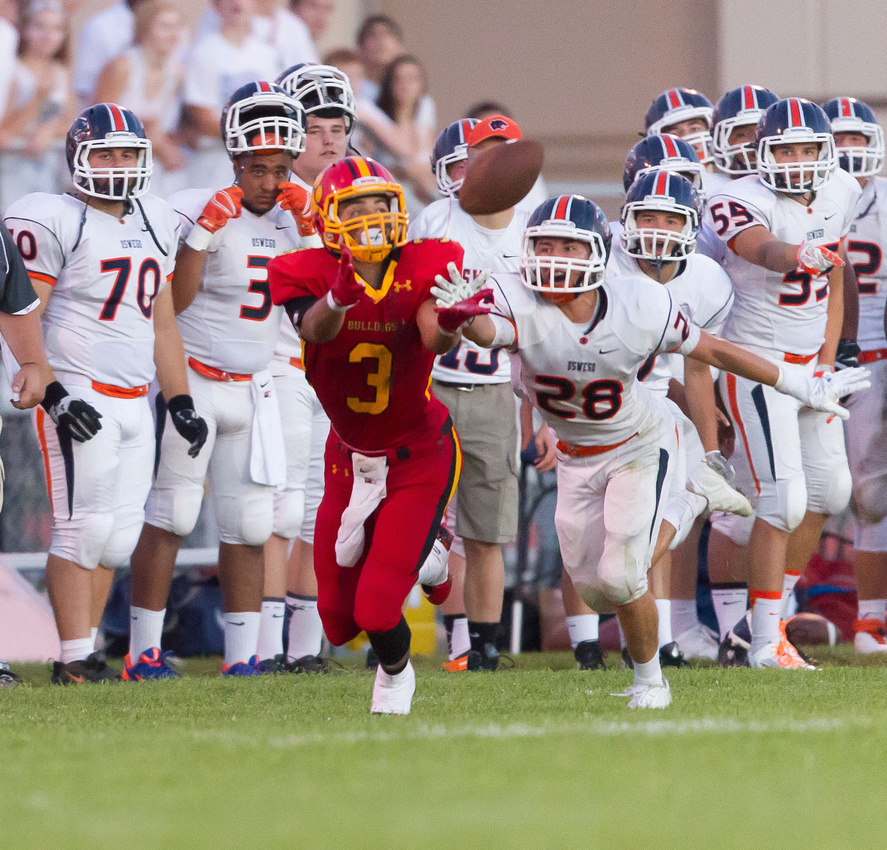 Batavia Vs Oswego High School Football