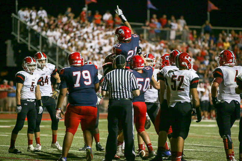 Yorkville Vs West Aurora Football