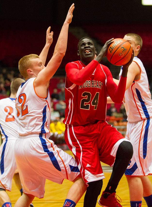 Mooseheart Vs Eastland 1A Boys Basketball Super-Sectional