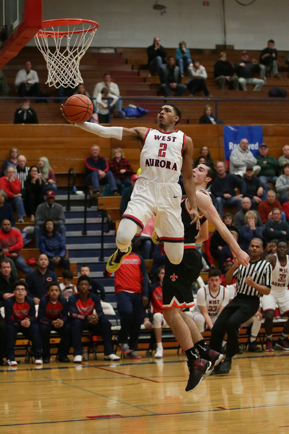 St.Charles East vs West Aurora Boys Basketball