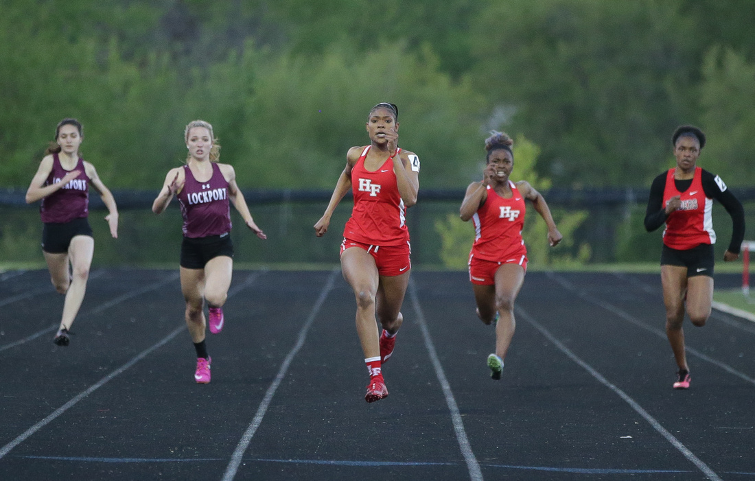 Bolingbrook Girls Track and Field Meet