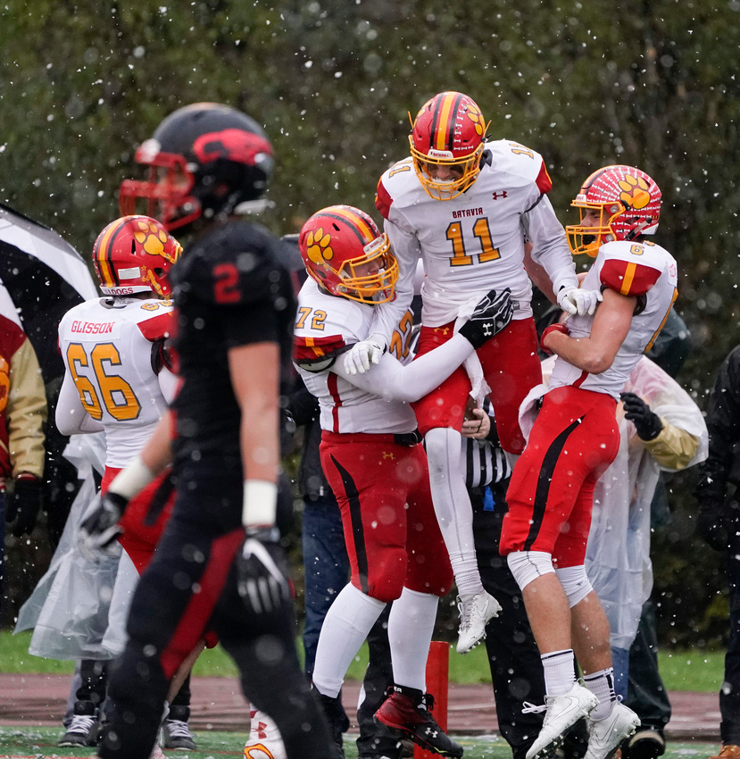 Batavia Vs. Benet 7A semifinal playoff football game