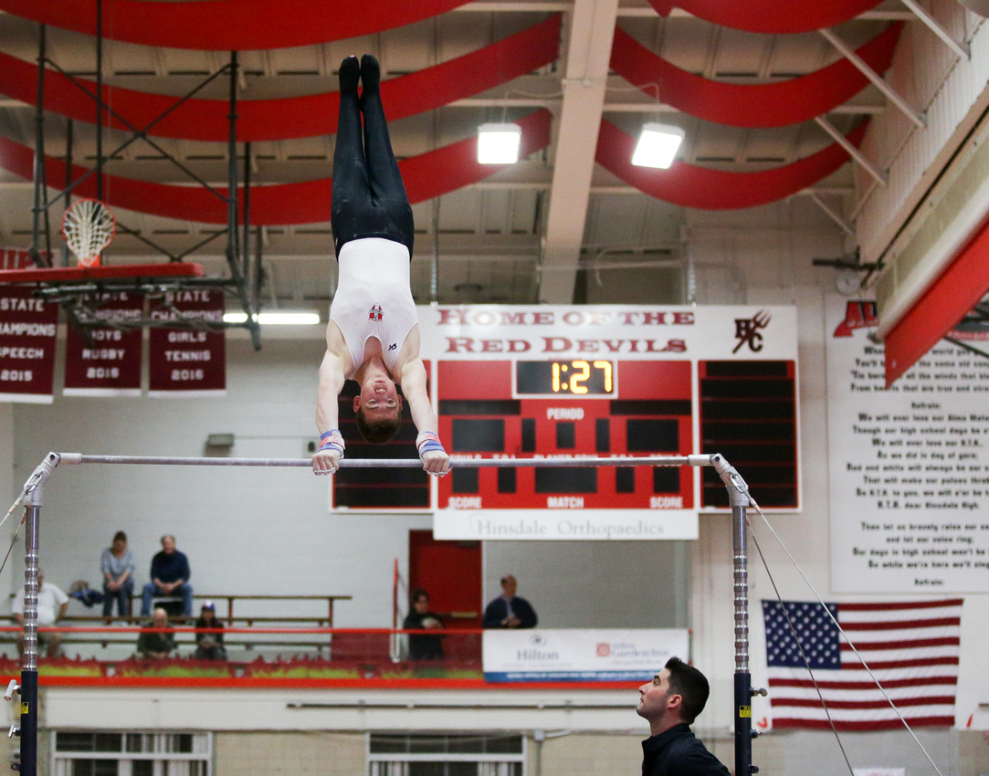 Hinsdale Central Boys Gymnastic Meet