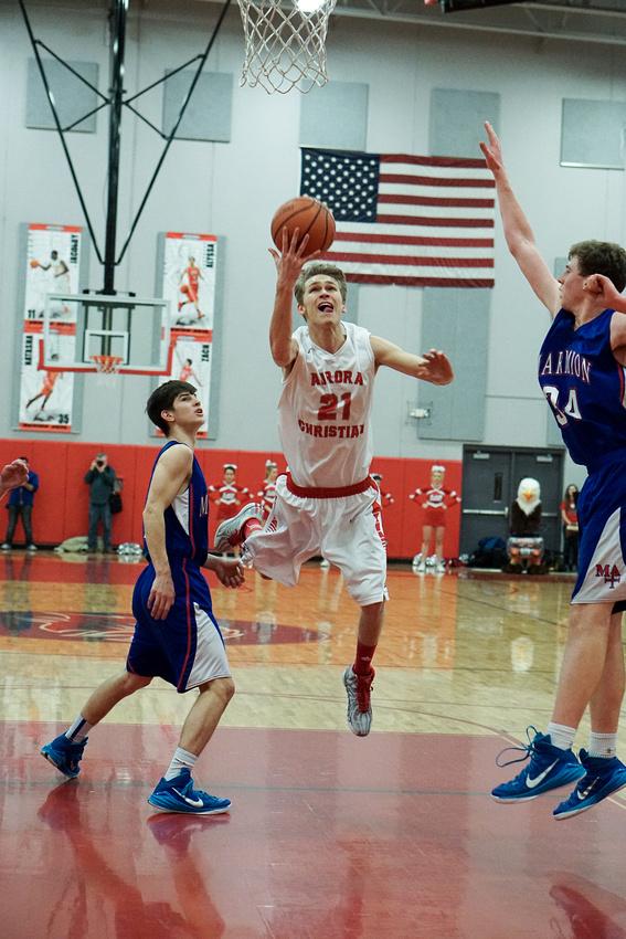 Aurora Christian Vs Marmion Boys Basketball