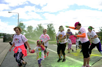 Running of the Foxes Color A Thon 2017