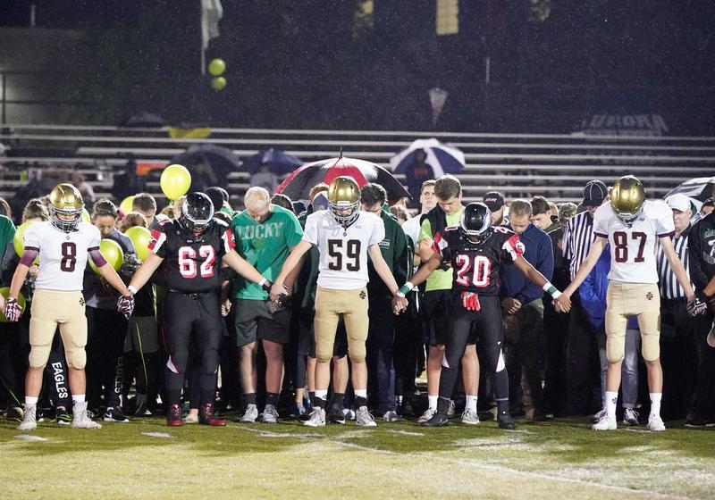 St.Ignatius Vs Aurora Christian Football