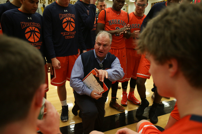 Naperville North Boys Basketball Coach Jeff Powers